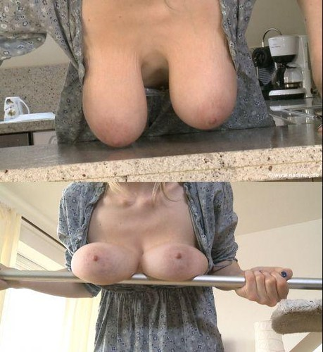 Casey   Busty Blonde Homecleaning HD