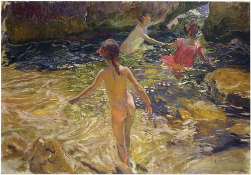 """Children of the day basking in the sun"" - Joaquin Sorolla Y Bastida"
