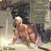 Big Girls Fat Girls 3d hentai Monster Collection