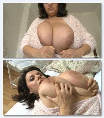 Milena   Busty Milf with Big Tits Romantic Bedroom HD