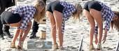 Kate Upton Pillada Con El Culo En Pompa
