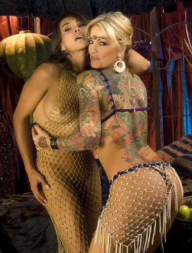 Janine lindemulder and shemale